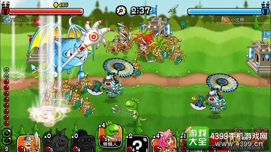 城与龙游戏画面