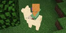 我的世界羊驼怎么驯服