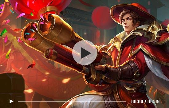 王者荣耀刘备重做试玩视频