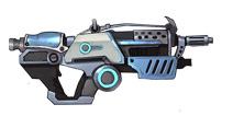 枪火战神微型冲锋枪+战斗机甲