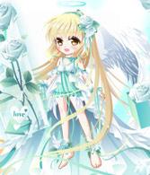 奥比岛爱・天使蔷薇装
