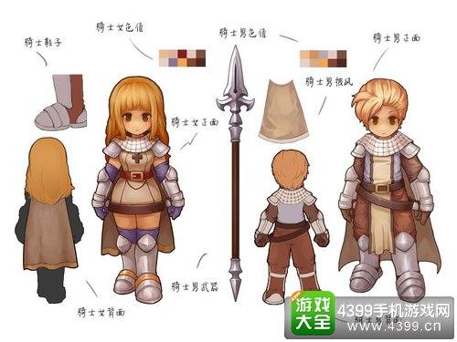 仙境传说ro手游骑士进阶攻略——骑士装备