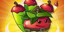 植物大战僵尸2苹果迫击炮装扮 苹果迫击炮装扮特效