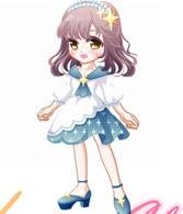 奥比岛星空魔法少女装