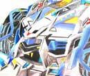 完美漂移手绘之霹雳战甲 X级霸气不减