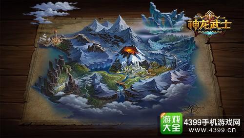 神龙武士游戏地图