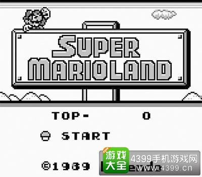 未荻在GB上接触的第一款马里奥游戏
