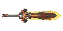 枪火战神骑士重剑