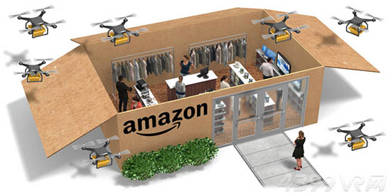 将AR/VR引入线下购物 亚马逊推出无人超市实体店