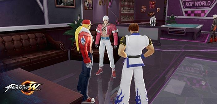打造自己的圈子 《拳皇世界》手游社团玩法曝光
