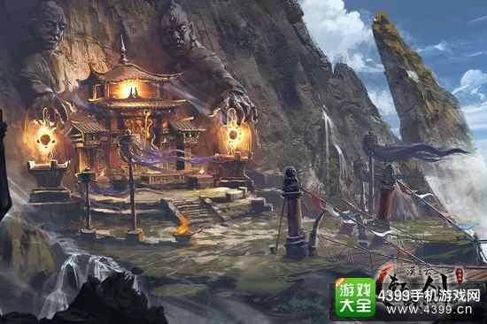 轩辕剑之汉之云游戏场景