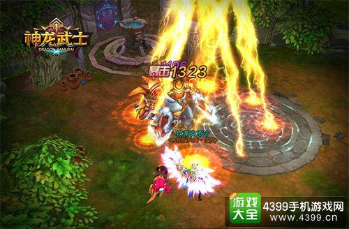 神龙武士战斗画面
