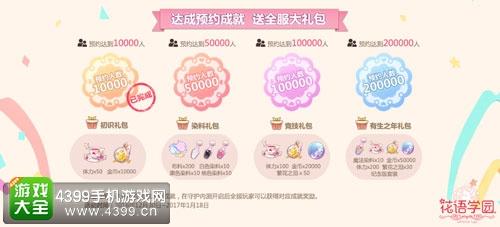 小花仙官方正版手游《花语学园》4月14日守护内测开启