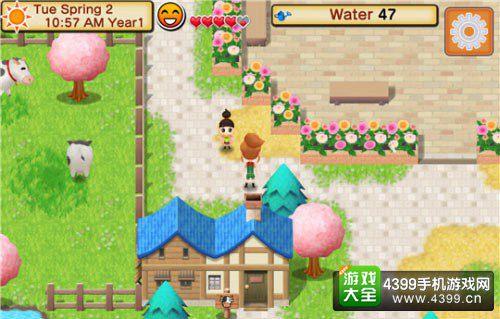 牧场物语游戏界面