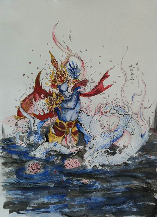 摩呼罗迦-4399妖羽九尾