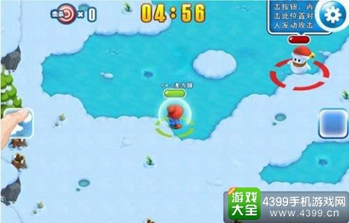 疯狂雪球H5