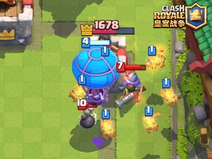 皇室战争气球兵分析1