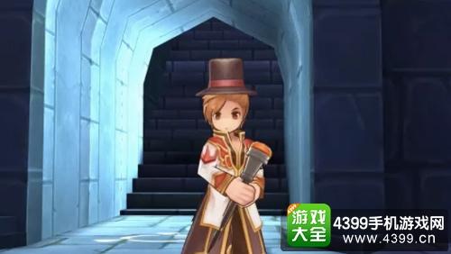绅士的手杖+魔术师帽套装造型
