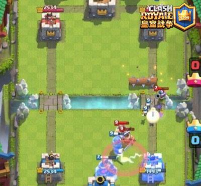 皇室战争攻城槌搭配