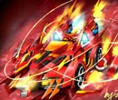 完美漂移手绘之皇家焚天圣魂 特效超酷炫