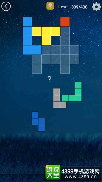 方块拼图鱼的故事玩法