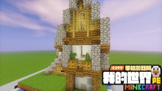 我的世界中世纪房屋教程 16x16区块建筑教学
