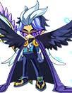洛克王国掠鸦之翼套装