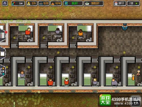 监狱建筑师游戏地图