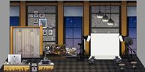 少女前线家具套装都市摄影棚一览 4星家具套装