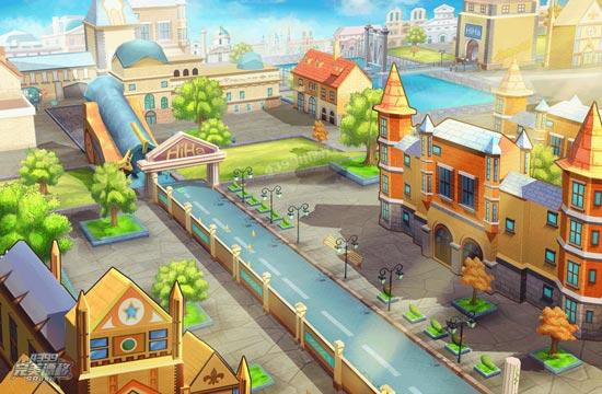 完美漂移欧朗城风景图