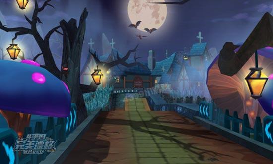 完美漂移幽灵城堡风景图