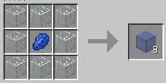 我的世界染色玻璃怎么合成
