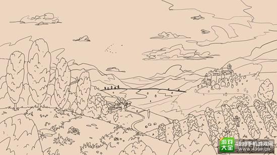 以长者的名义游历唯美插画 《老人的旅行》明日上架AppStore