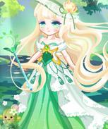 奥比岛森林女神竹林照