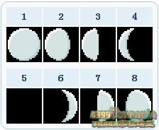 泰拉瑞亚月亮怎么看 月相机制详解