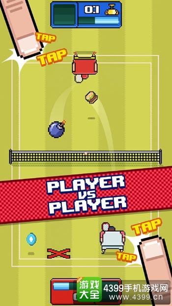 廷贝尔网球玩法