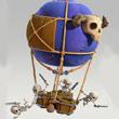 部落冲突骷髅气球