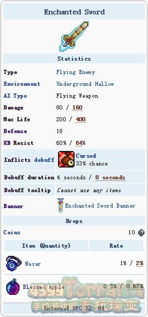 泰拉瑞亚魔化之剑