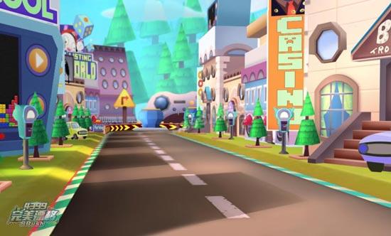 完美漂移游戏空间风景图