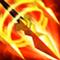 创世联盟火焰三尖枪