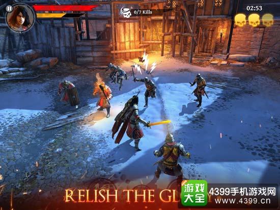 铁血刺客:中世纪传奇游戏画面