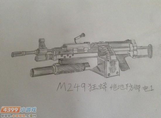 ÉúËÀ¾Ñ»÷Íæ¼ÒÊÖ»æ-M249