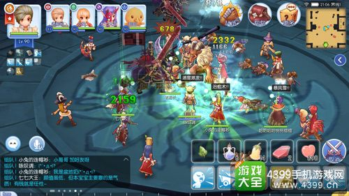 仙境传说ro手游古城大厅的新玩法 小巴风特入侵神秘boss苏醒