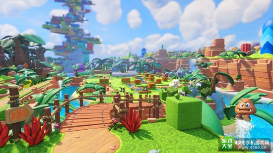 任天堂X育碧 《马里奥疯狂兔子:王国之战》亮相E3大展