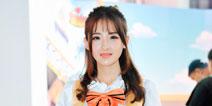 围观ChinaJoy2016首日展馆Showgirl