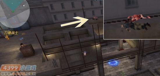 生死狙击游戏截图-刀锋战士里出现了狂热体?