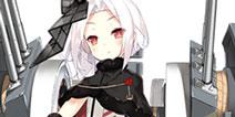 战舰少女rVV岚Z17改造立绘 新改造船立绘