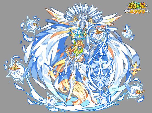 奥拉星传奇天使王图片 传奇天使王高清大图