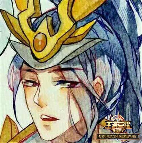 王者荣耀手绘头像欣赏 尖下巴只为给你一戳
