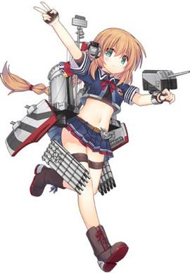 战舰少女r立绘调整